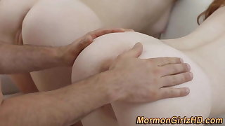 Teen mormon group fuck