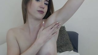 Live Cam Operation Tiny Teenager Showing No 1 HD